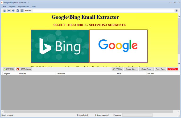 Google_Bing Email Extractor v4.2-邮箱搜刮工具