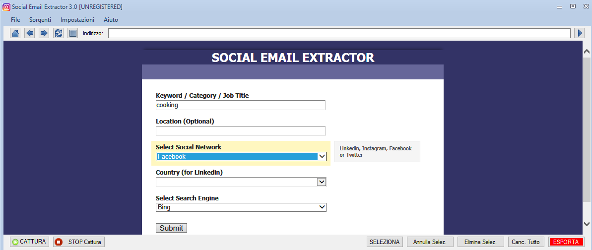 Social Email Extractor v3.0-邮箱搜刮工具 - 第6张  | SEO破解工具