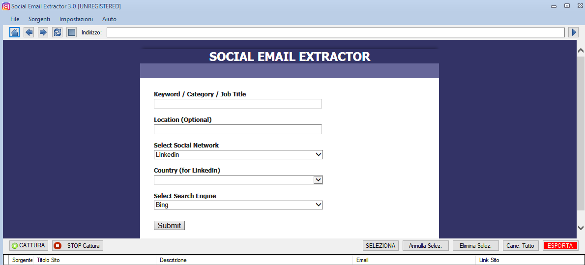 Social Email Extractor v3.0-邮箱搜刮工具 - 第9张  | SEO破解工具